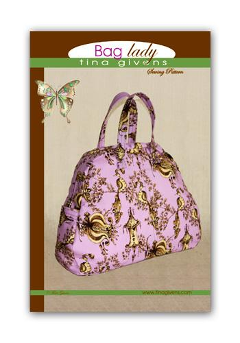 Tina Givens Bag Lady Purse Pattern