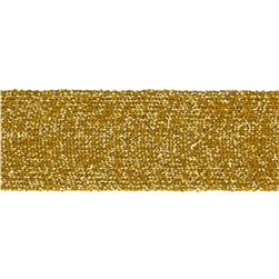 "Team Spirit 1"" Solid Trim Metallic Gold"