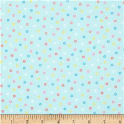 Lecien Minny Muu Tiny Flowers Blue