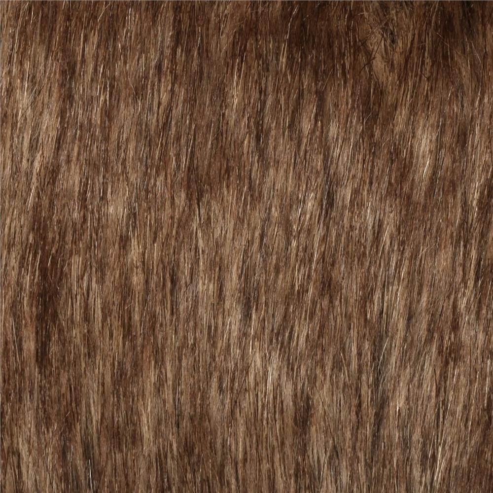 Combine into 0456110 Faux Fur Tip Dyed Fox Gold