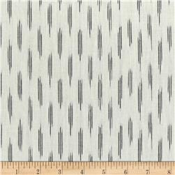 Andover Dream Weaves Ikat Mini Stripe White