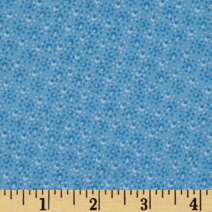 "108"" Wide Ashley Quilt Back Blue"