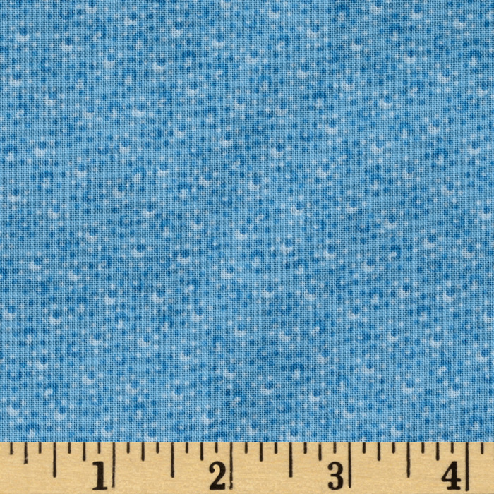108'' Wide Ashley Quilt Back Blue Fabric
