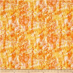 Calpyso Splatter Paint Orange/Yellow
