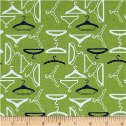 Riley Blake Vintage Happy Hangers Green