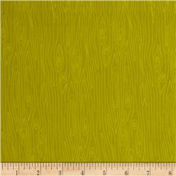 Riley Blake Happy Harvest Flannel Wood Green