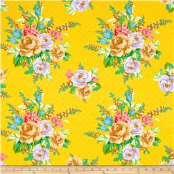 Mostly Manor Lg Floral Yellow