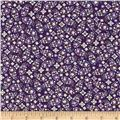 Notting Hill Tiny Floral Purple