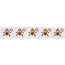 "Riley Blake 5/8"" Grosgrain Ribbon Zoofari"