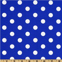 Spot On Polka Dots Royal Fabric
