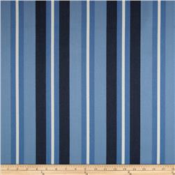 Robert Allen Promo Outdoor Oceanside Stripe Harbor Blue