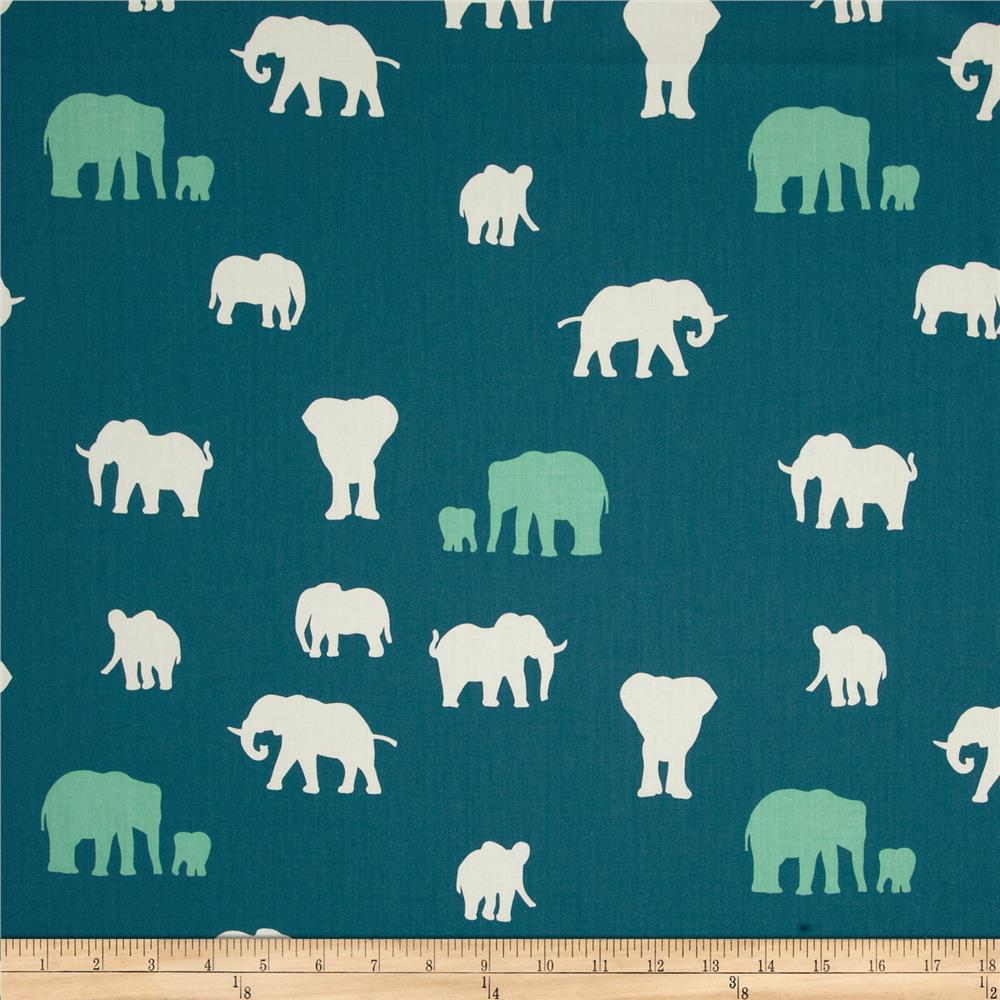 Birch Organic Serengeti The Herd Teal
