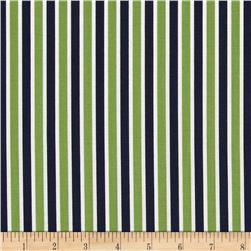 Moda Daysail Stripe Green/Navy