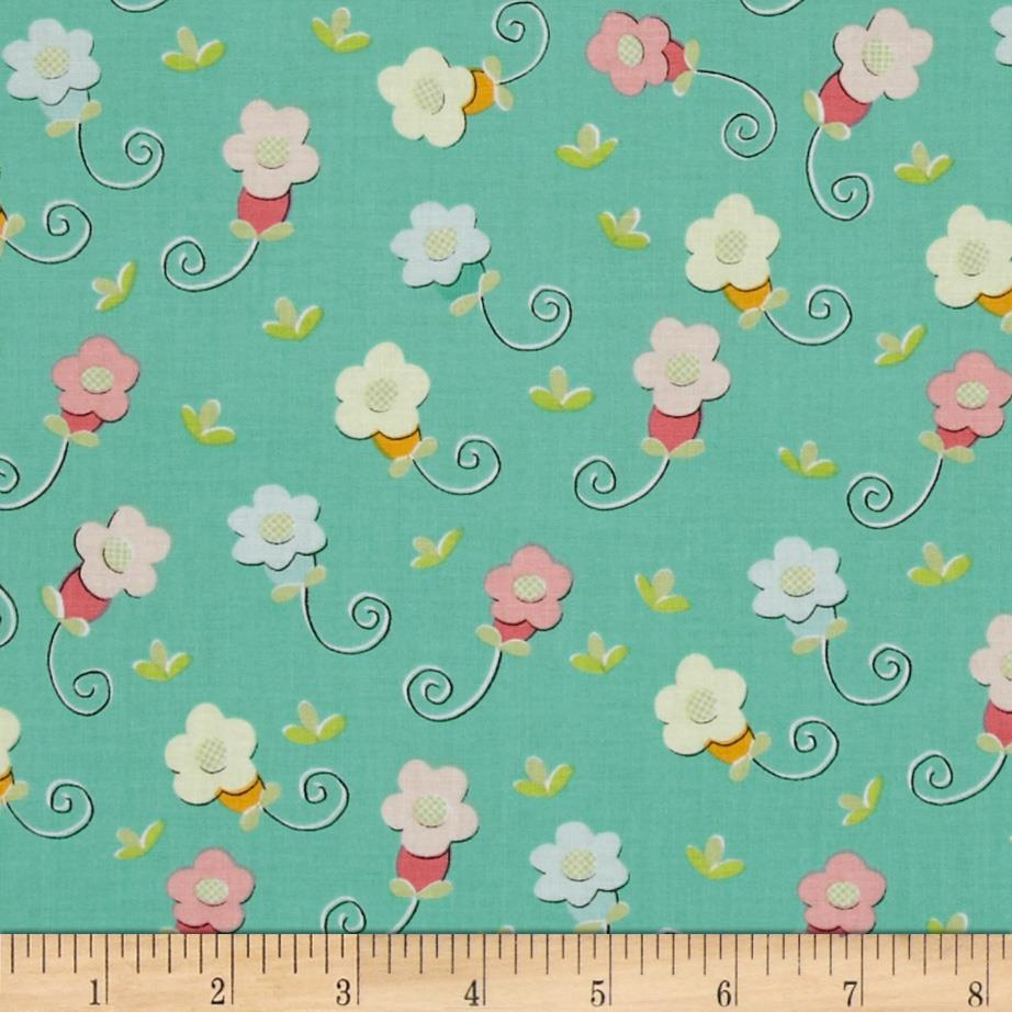 Sugar & Spice Small Daisy Blue