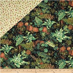 Falls Canvas Double Sided Quilted Potpourri Black