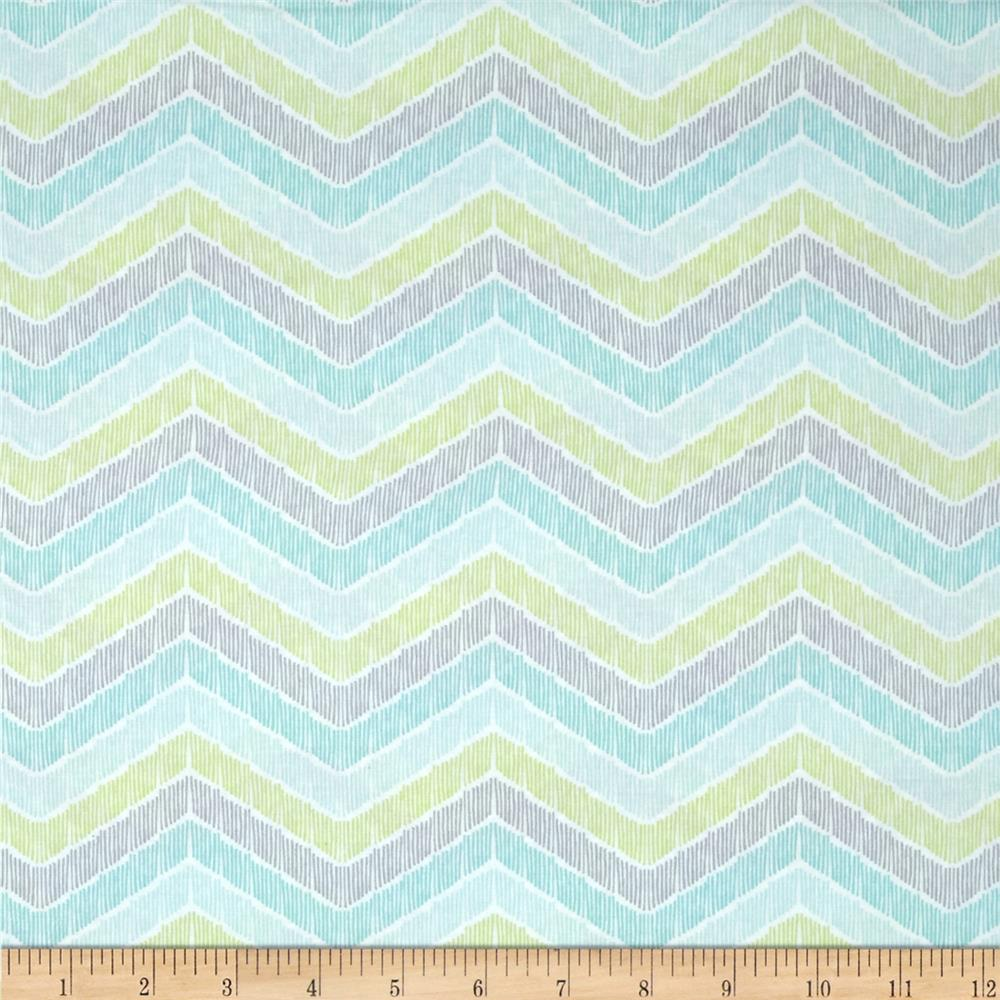 Moda True Luck Chevron Aqua