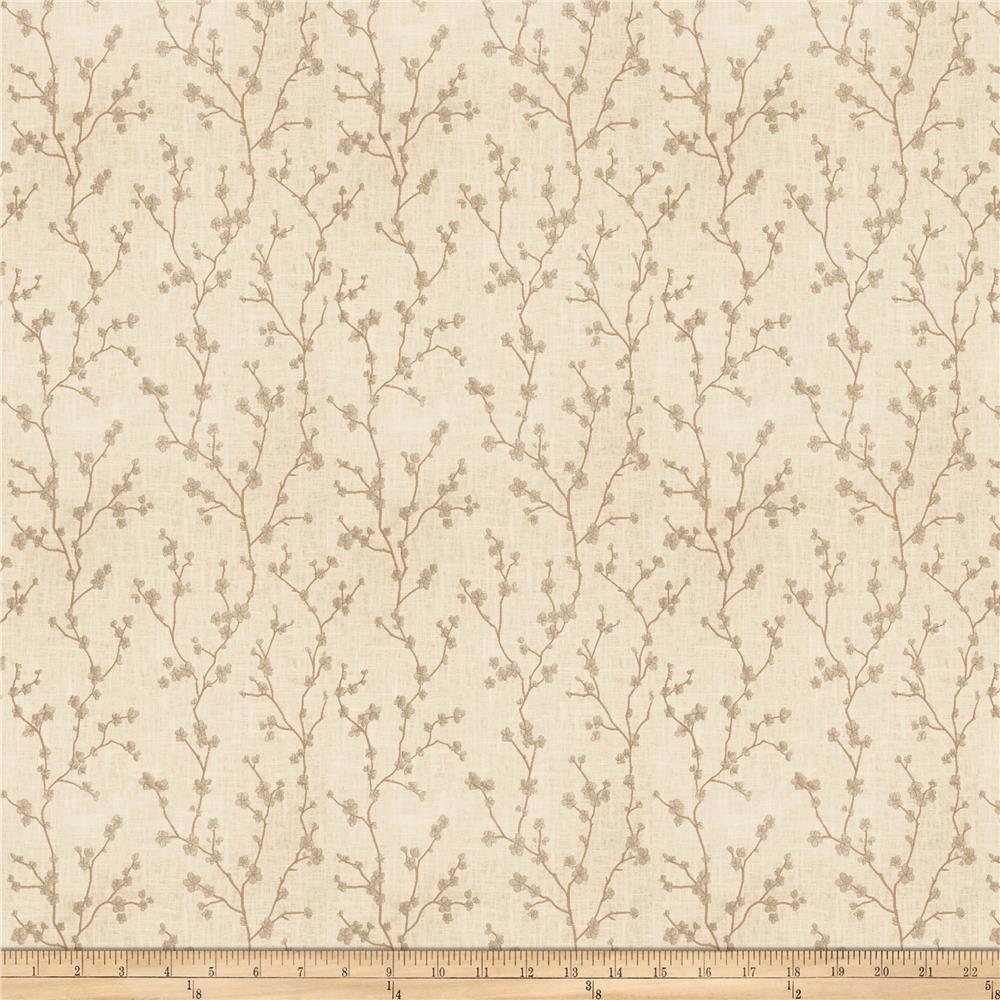 Vern Yip 03355 Linen Blend Natural Fabric
