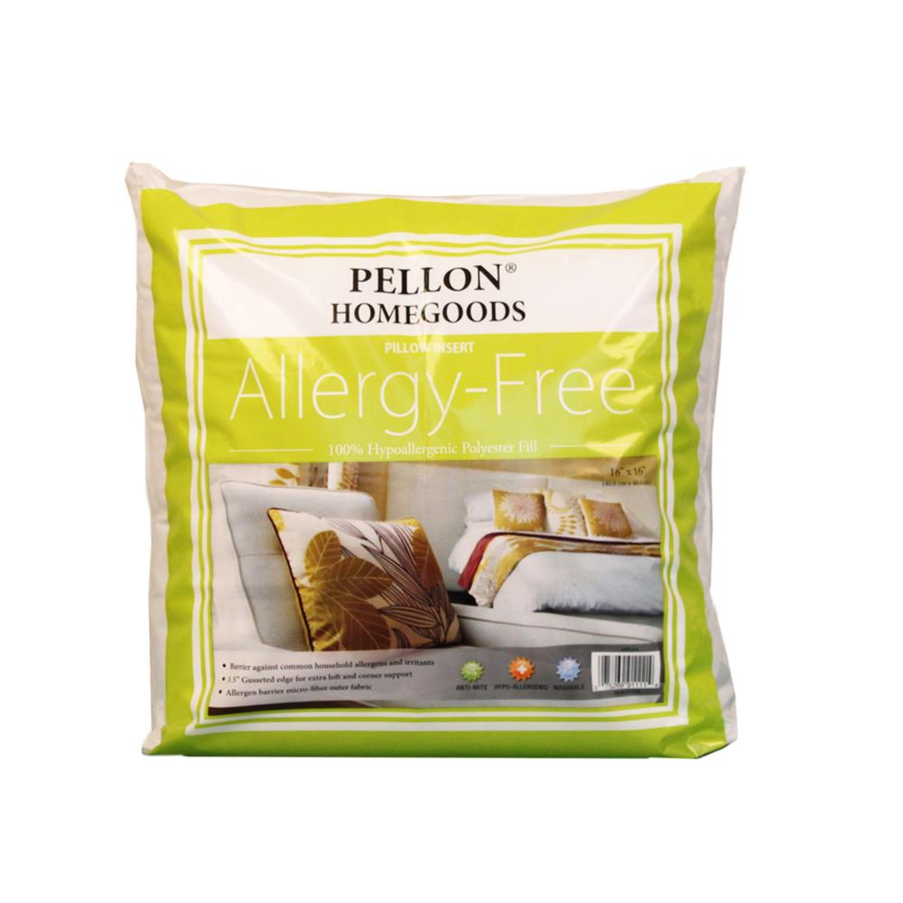 "Pellon Home Goods Allergy Free Pillow Insert 16"" x 16"""