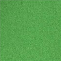 Comfy Double Napped Flannel Green Apple Fabric