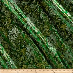 Chinese Brocade Floral Green