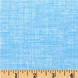 Timeless Treasures Sketch Sky Blue Fabric