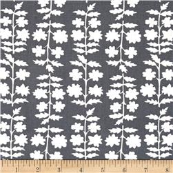 Moda Weeds Fern Grey