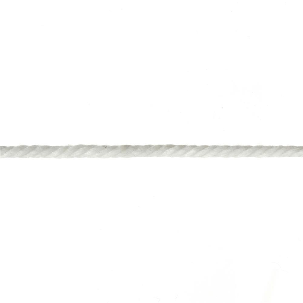 3/16'' Cable Cord White By the Yard