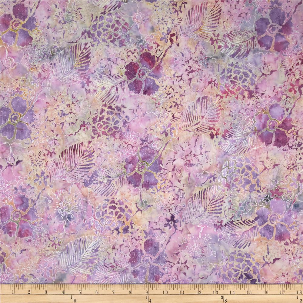 Bali Batiks Handpaints Mixed Floral Petit Four