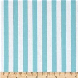 "Riley Blake 1/2"" Stripe Aqua"