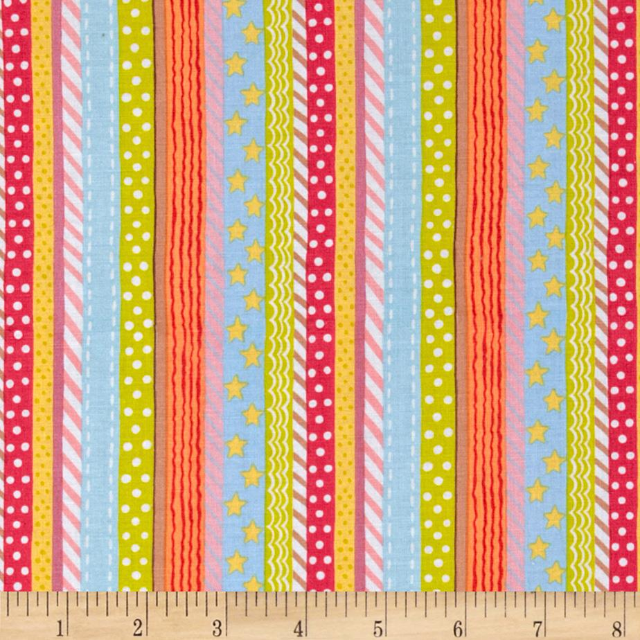 Toyland Stripe Natural Brite