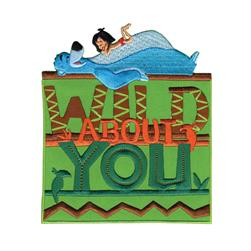 Disney Jungle Book Iron On Applique Wild About You
