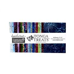 "Timeless Treasures Tonga Batik Treats Zen 5"" Mini Squares"