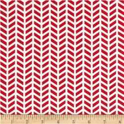 Ole Saint Nick Chevron Red/White