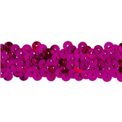 Team Spirit 3/4'' #30 Sequin Trim Fuchsia