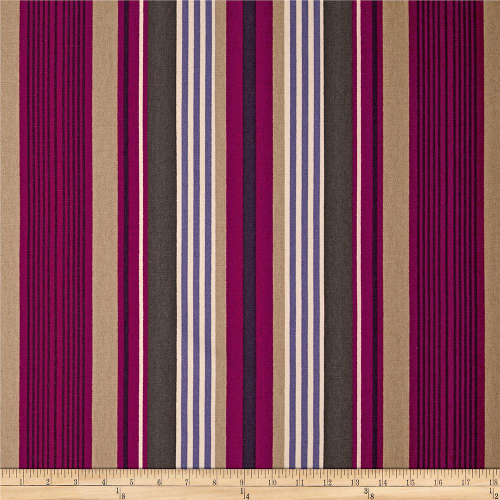 Microfibres Willa Stripe Plum
