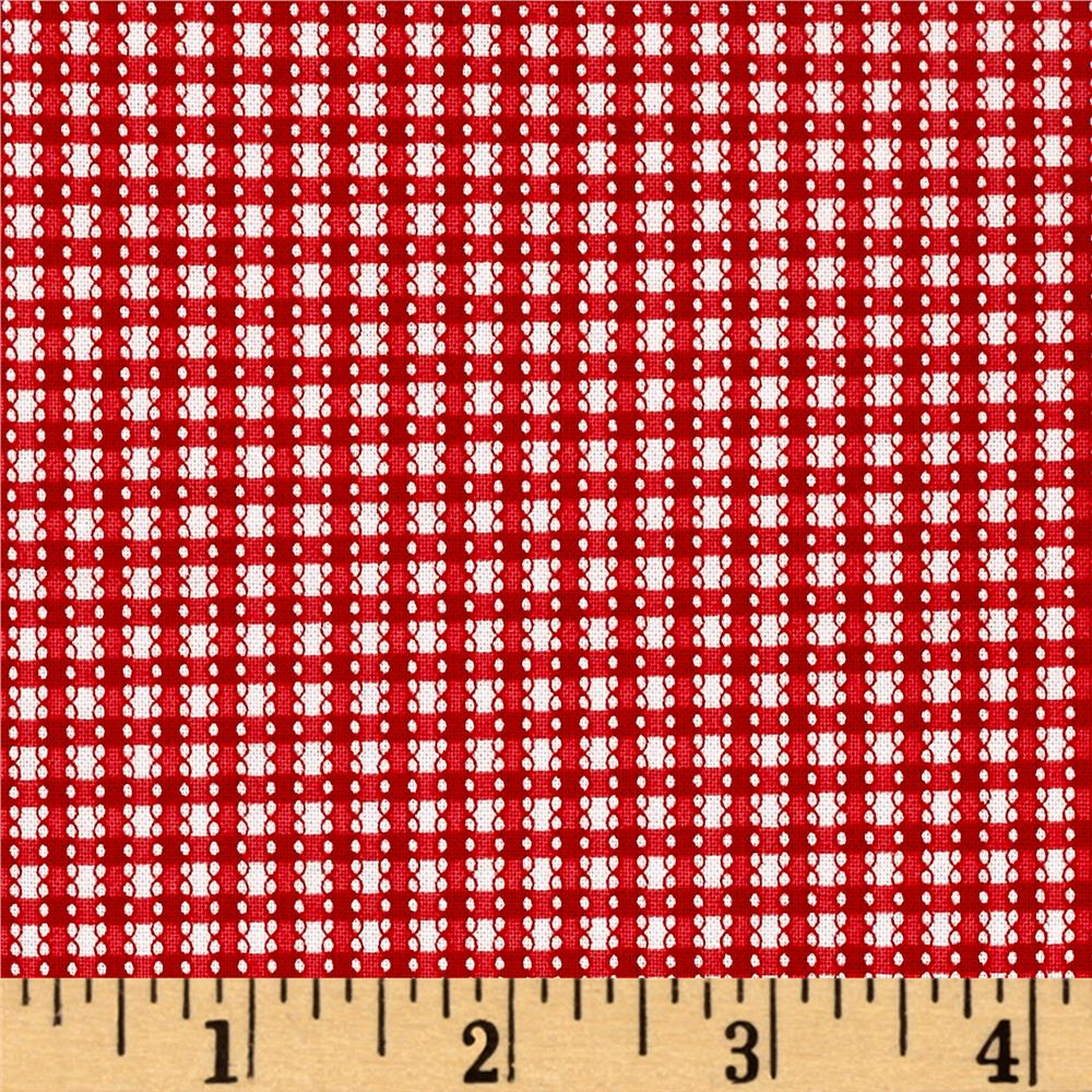 Simply Chic Gingham Red