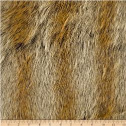 Faux Fur Chinchilla Gold Fabric