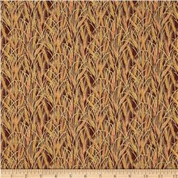 Maple Lane Metallic Wheat Brown