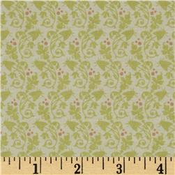Garden of Delights Vines & Berries Ivory/Green