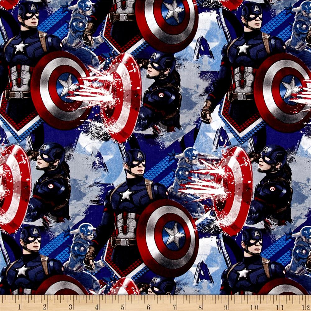 Marvel Captain America Power Blue Discount Designer