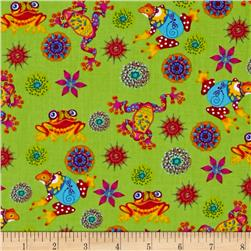Calypso Frogs Leaping Frogs Green/Multi
