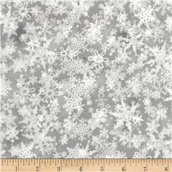 Holiday Accents Classics 2016 Falling Snow Silver