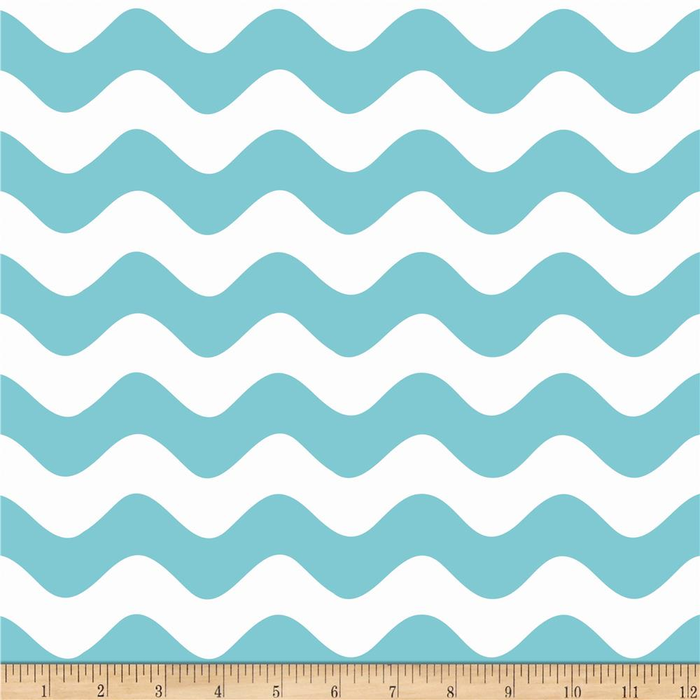 Riley Blake Wave Aqua