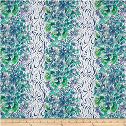 Cottage Garden Everbloom Periwinkle Fabric