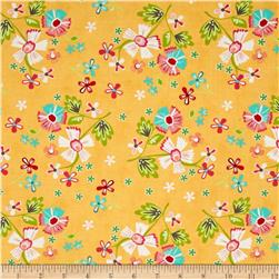 Moda Prairie Large Floral Yellow
