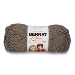 Bernat Softee Chunky Yarn (28048) Taupe Grey