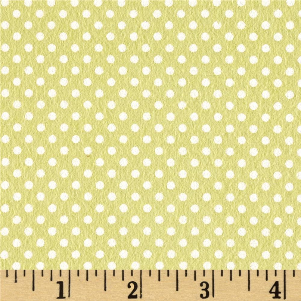 Moda Sweet Baby Flannel Tiny Dot Sprig