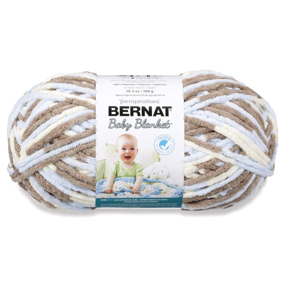 Bernat Baby Blanket Big Ball Yarn (04128) Little