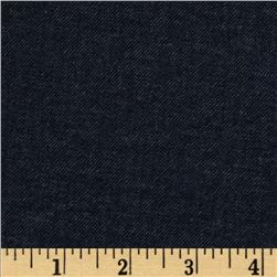 Bailey Stretch Double Knit Heather Navy Fabric