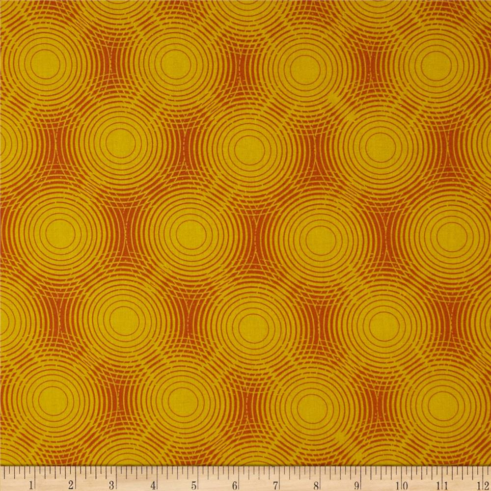 Shaman peyote moon sun discount designer fabric for Sun moon fabric